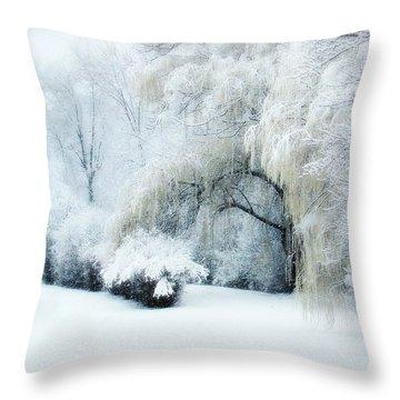 Snow Dream Throw Pillow