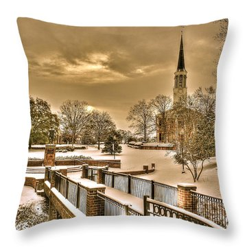 Fayetteville Nc 8 Throw Pillow