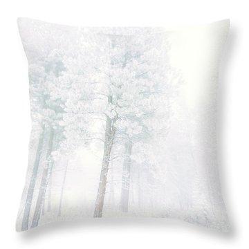 Snowed In Throw Pillow by Tara Turner