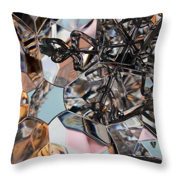 Snowflakes Throw Pillow