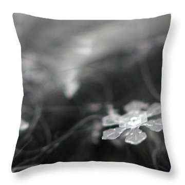 Snowflake Garden Throw Pillow