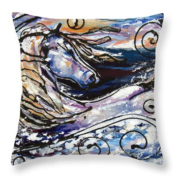 Snowplace Like Home Throw Pillow