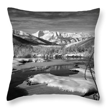 Snow's Marina Throw Pillow