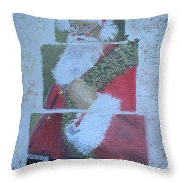 S'nta Claus Throw Pillow