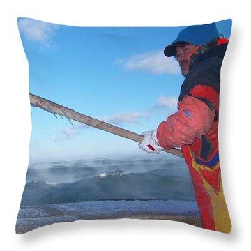 So Cold Throw Pillow