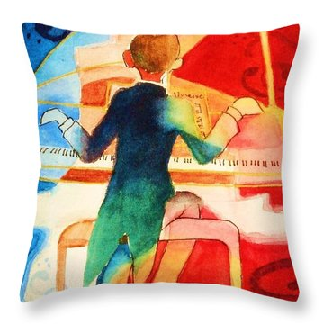 So Grand Throw Pillow by Marilyn Jacobson