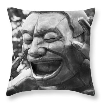 So Happy Throw Pillow
