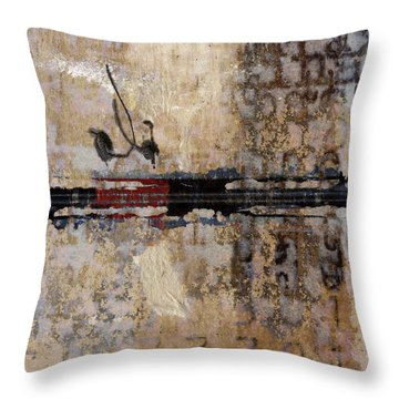 So Linear Square Throw Pillow