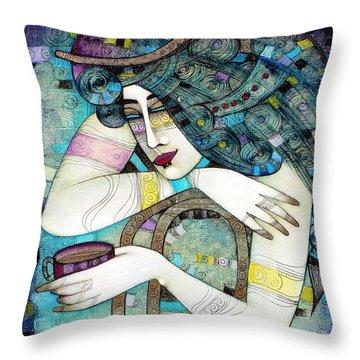 So Many Memories... Throw Pillow by Albena Vatcheva