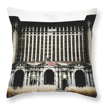 So The Present Utterly Formed Impelled By The Past  Throw Pillow