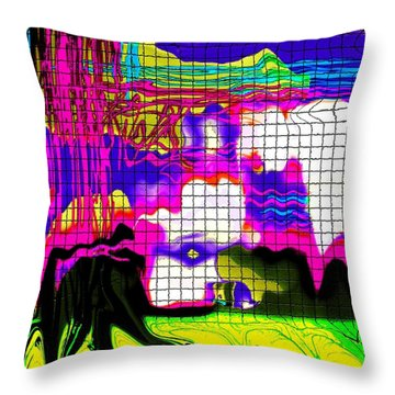 Throw Pillow featuring the photograph Soap Scum by Everette McMahan jr
