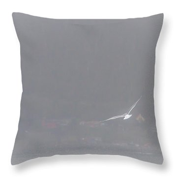 Soaring Home Throw Pillow by Melinda Ledsome