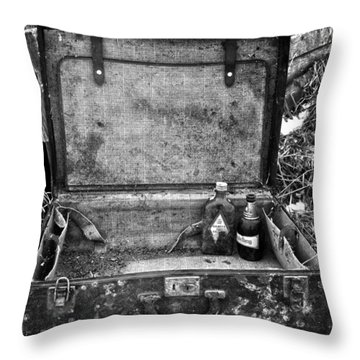 Sober Travels  Throw Pillow