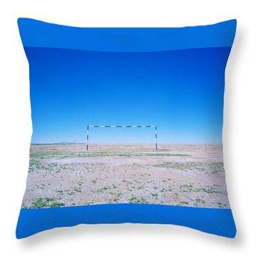 Field Of Dreams Throw Pillow by Shaun Higson