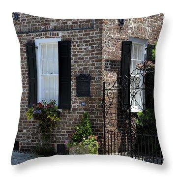 Societe Francaise Charleston Sc Throw Pillow