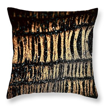 Sock Throw Pillow by Jason Michael Roust