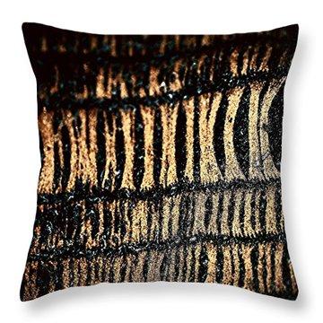 Sock Throw Pillow by Jason Michael Roust