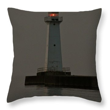 Sodus Point Beacon Throw Pillow