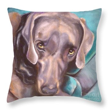 Sofa Serenade  Throw Pillow