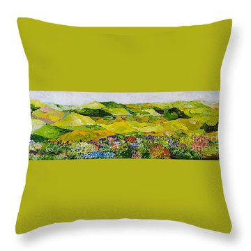 Soft And Lush Throw Pillow by Allan P Friedlander