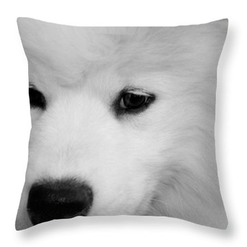 Soft And Overwhelming Beauty.... Throw Pillow