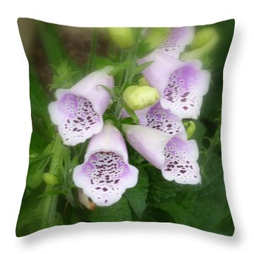 Soft And Silky Laced Gloves Throw Pillow by Lingfai Leung