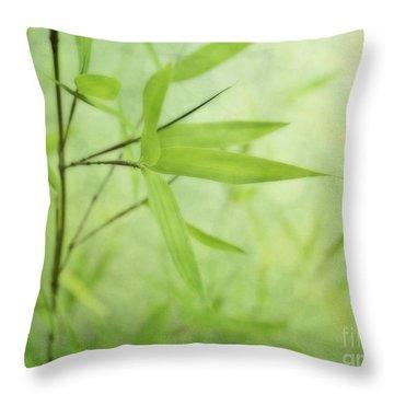 Soft Bamboo Throw Pillow by Priska Wettstein