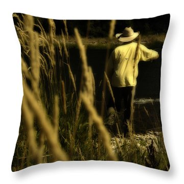 Soft Cast Throw Pillow