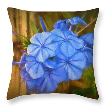 Soft Cluster Throw Pillow