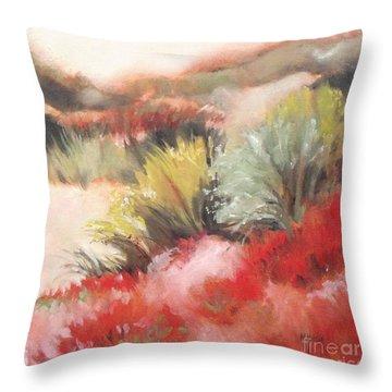 Soft Dunes 2 Throw Pillow