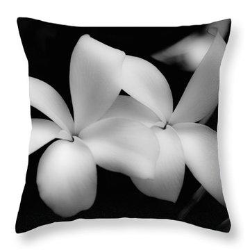 Soft Floral Beauty Throw Pillow