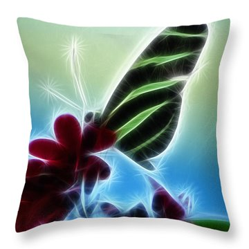 Soft Landing Throw Pillow by Joann Copeland-Paul