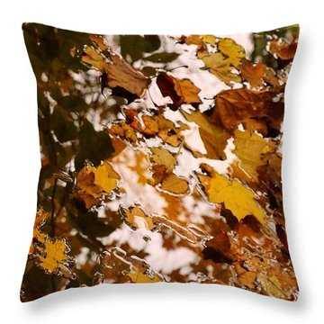 Throw Pillow featuring the photograph Soft Landing by Photographic Arts And Design Studio