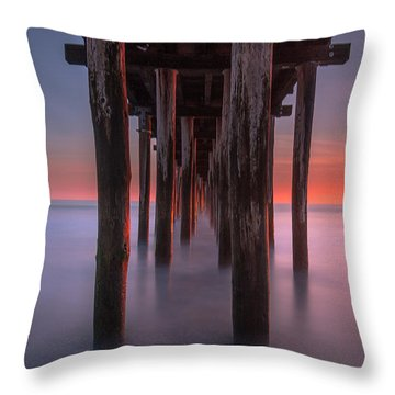Soft Light From Starboard Throw Pillow