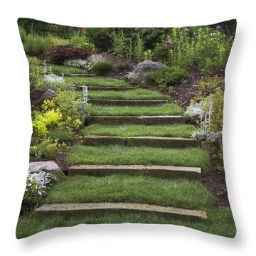Soft Stairs Throw Pillow