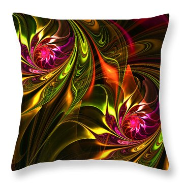 Soft Touch Throw Pillow by Ester  Rogers