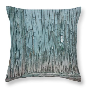 Soft Wood Throw Pillow