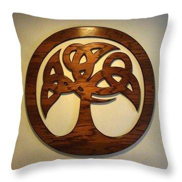 Sol Tree Throw Pillow