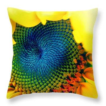 Solar Energy Throw Pillow