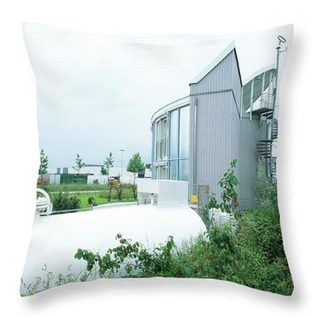 Electrolysis Throw Pillows