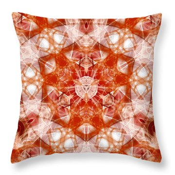 Solar Hypercube Throw Pillow