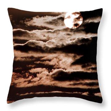 Solar Painter Throw Pillow