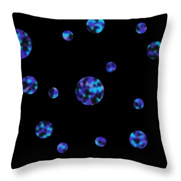Solar System II Throw Pillow