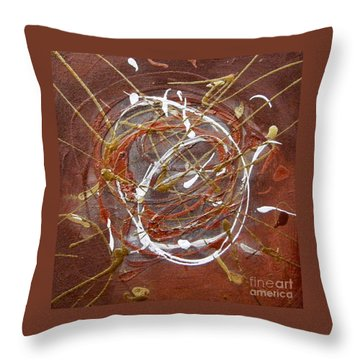 Solaris One Throw Pillow