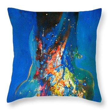 Sold To Buyer Susie London Throw Pillow
