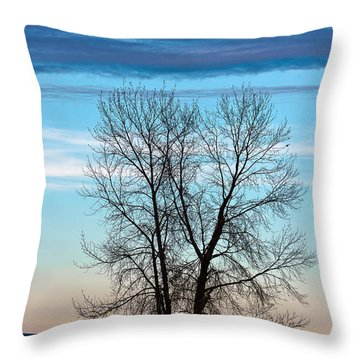 Soldier Creek Sunset Throw Pillow