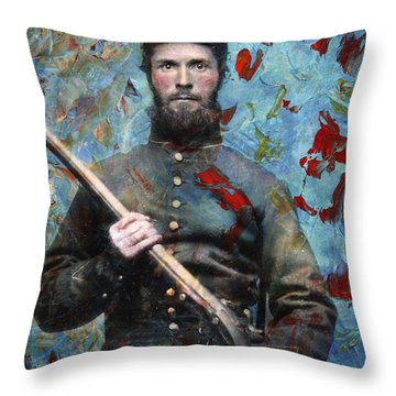 Soldier Fellow 2 Throw Pillow