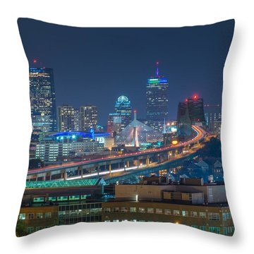 Soldiers Home Throw Pillow