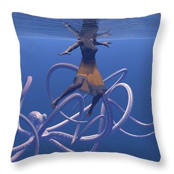Sole Survivor Throw Pillow