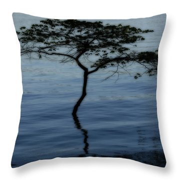 Solitaire Tree Throw Pillow